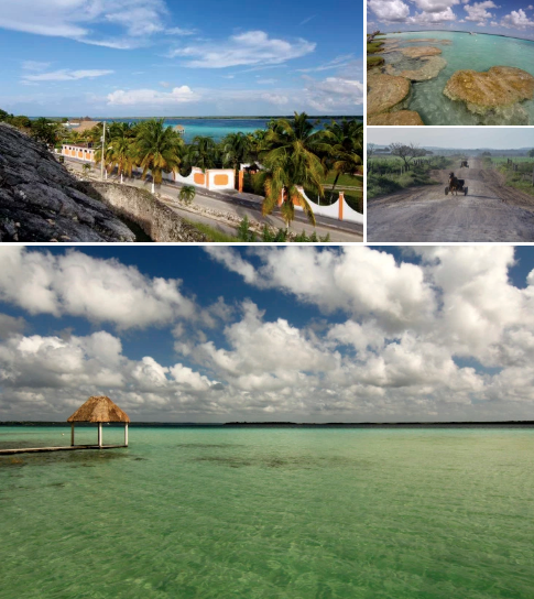The beauty of Bacalar's Lake