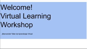Virtual Learning Workshops