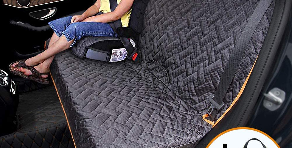 iBuddy Dog Car Seat Covers 100% Waterproof, Dog Seat Cover with Side Flaps from