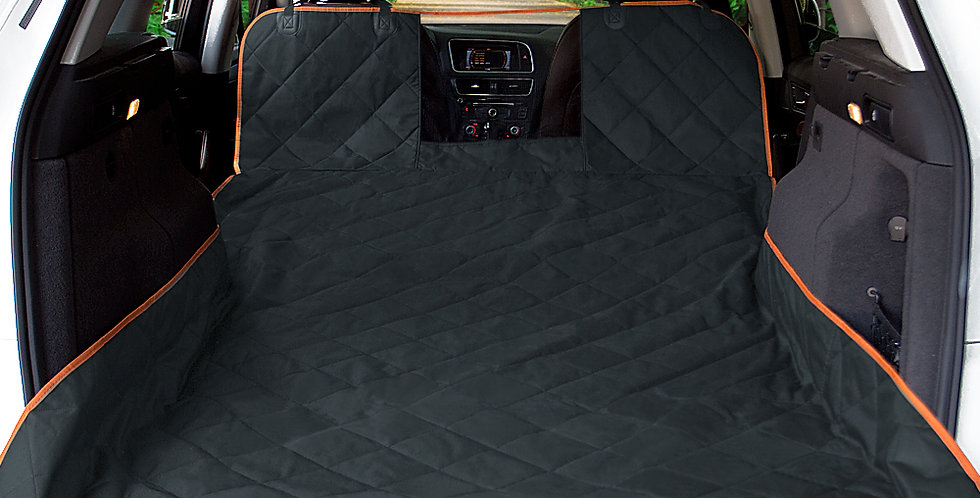 iBuddy SUV Cargo Liner for Dogs with Mesh Window