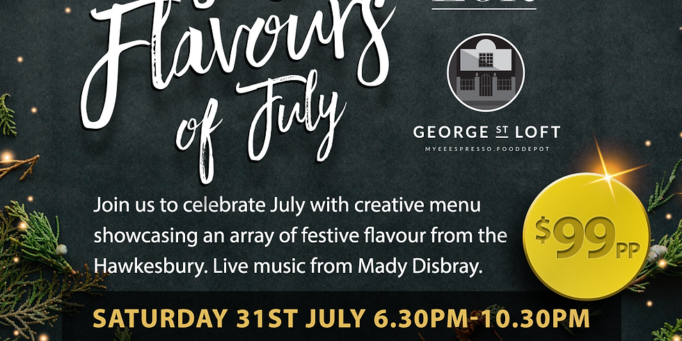 Festival Flavours of July