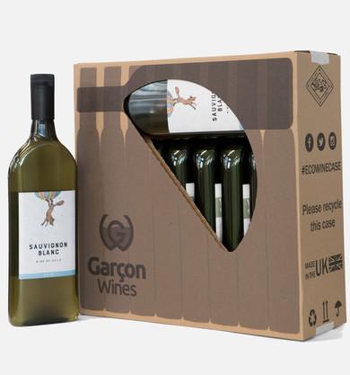 The 10 Flat Bottle Case | Garçon Wines
