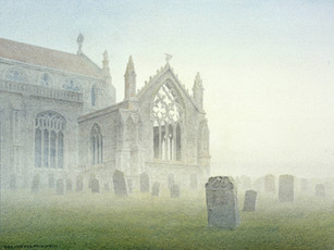 Ruined transept, Cley