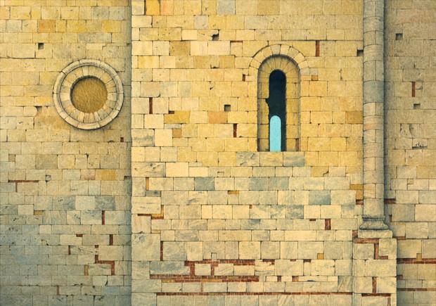 Stonework, Sant'Antimo