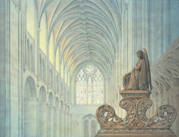 Hereford Nave from the Choir