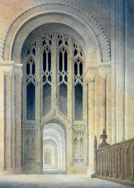 South aisle screen, Norwich Cathedral