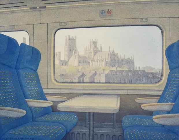 Train Cityscape