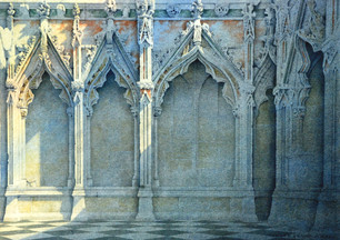 A corner of Ely Lady Chapel