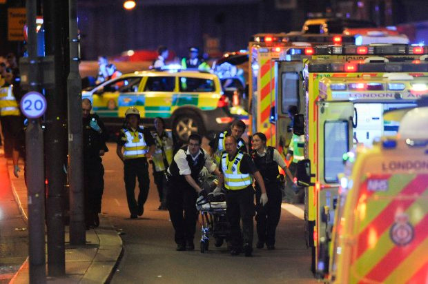 The aftermath and heroism of the ambulance service