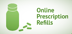 Prescription Refill Button
