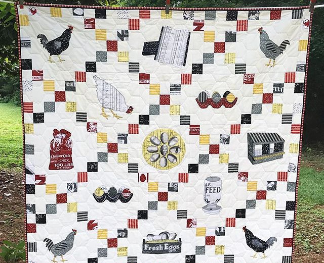 Our Modern #Farmhouse Quilt is now up in
