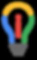 Innovator Bulb Logo, an i inside a bulb.