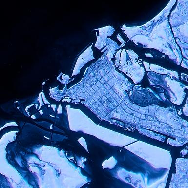 Push student thinking while examining satellite imagery over time using Google's Timelapse