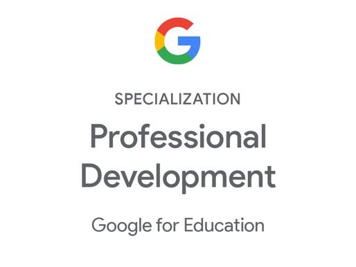 Google for Education -  Education Specialization Partner