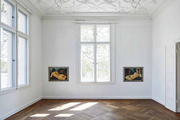 Ausstellungsansicht Nude, 2019