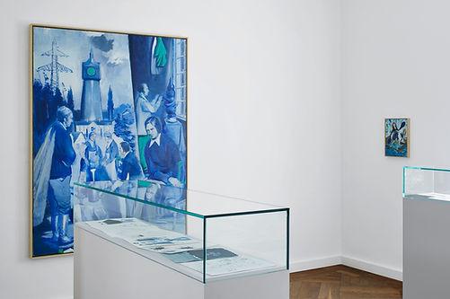 Ausstellungsansicht Lohengrin, 2018