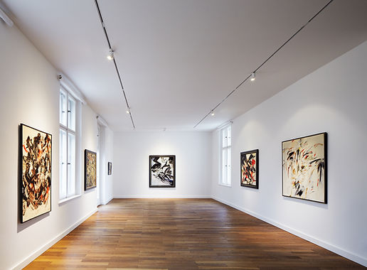 Ausstellungsansicht Aus der Zeit, 2013