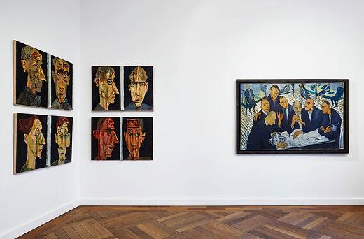 Ausstellungsansicht Glasnost, 2016