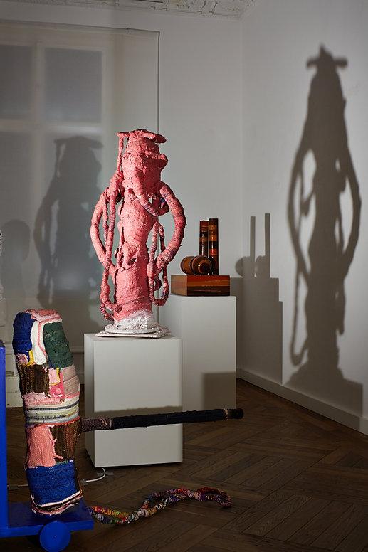Ausstellungsansicht Tal R, 2016