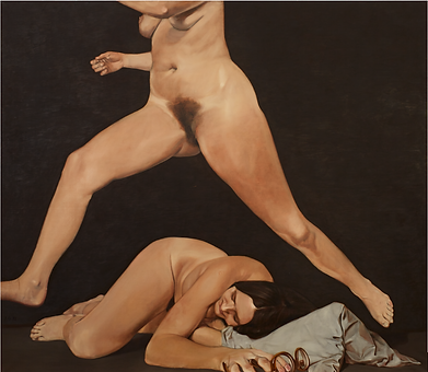 Ausstellungsansicht Johannes Grützke, 2016