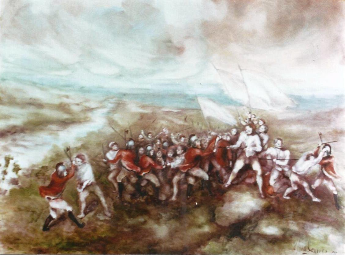 La battaglia presso il fiume Silis