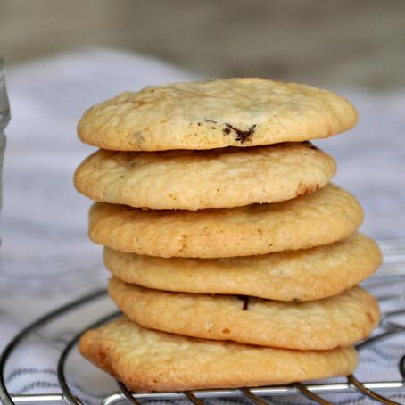 Gigi's Haferflocken-Himbeer-weiße Schokolade Cookies