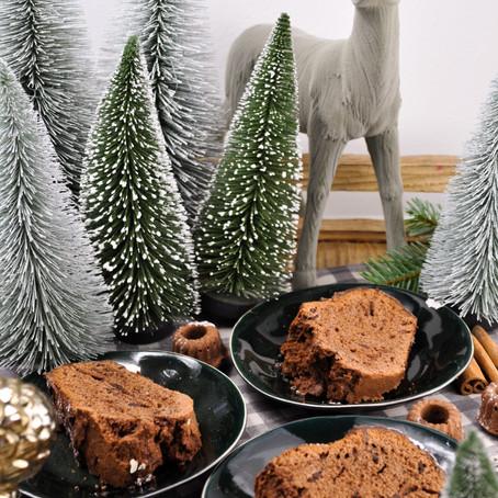 Gigi's Weihnachtlicher Schokoladenkuchen mit Rotwein