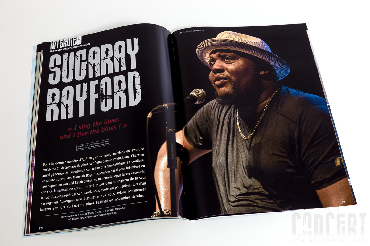 publication photo Sugaray Rayford