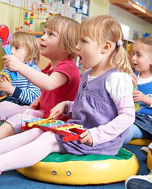 Aulas de Expressão Musical - Jardim Musical | EMAT