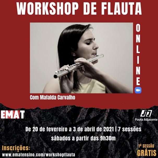 Workshop Online de Flauta Transversal
