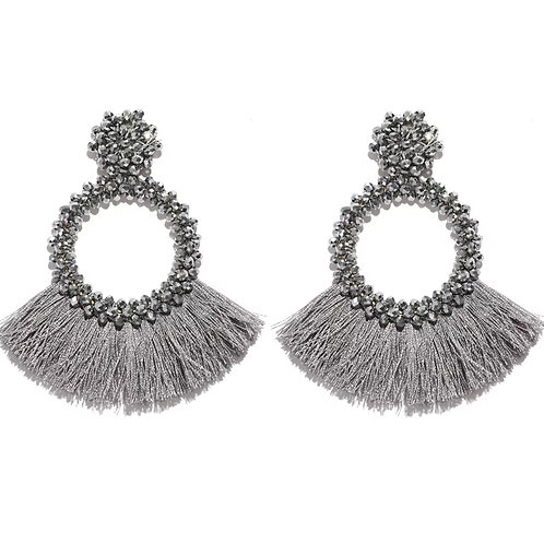 Glamming Ain't A Thing Earrings (Silver)