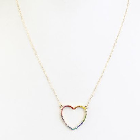 Love Me Necklace (Multi)