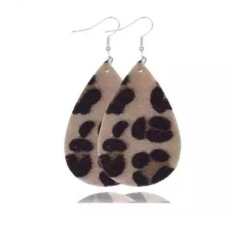 Leopard Fur-real Earrings