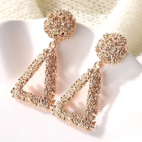 It's Her Way Earrings (Rose Gold)