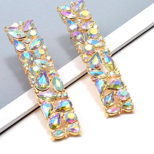 Tamara Earrings (Crystal)
