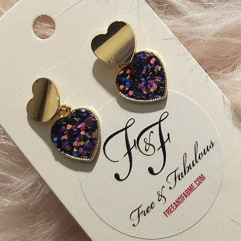 Sweet Heart Dangle Earrings