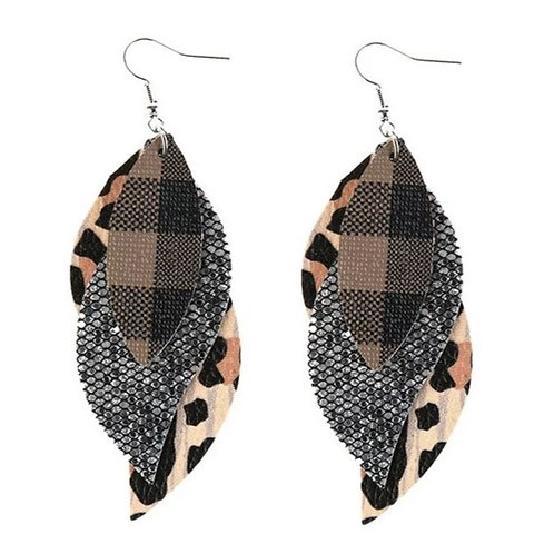 Let The Leopard Sparkle Earrings
