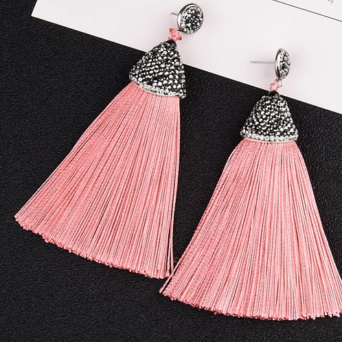 Kamora Earrings (light pink)
