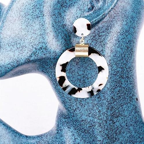 The Sasha's (cow print) Earrings