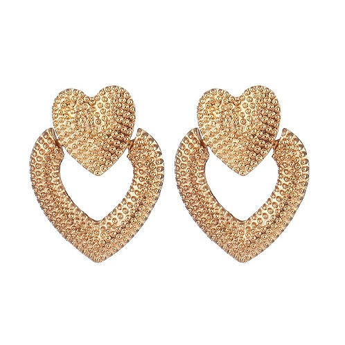 Love Life Heart Earrings