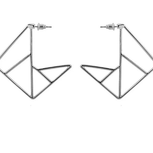 Geo-Down Earrings