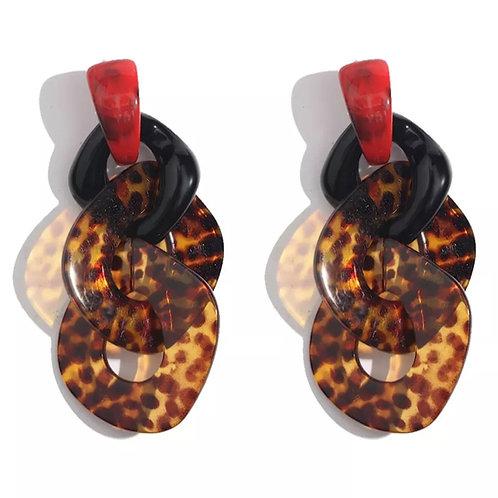 Bedrock Beauty Leopard Earrings