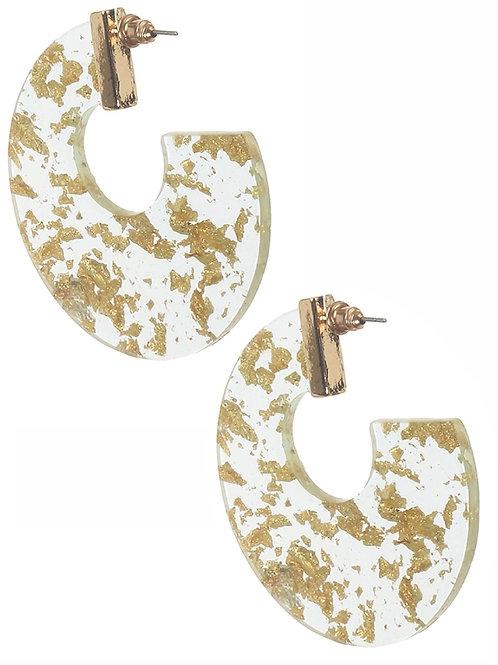 Flex in Gold Earrings