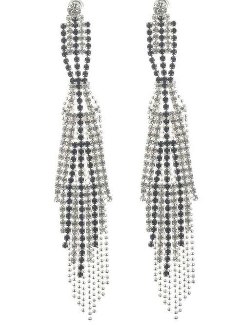 Dynasty Dangle Earringn (Silver) -148