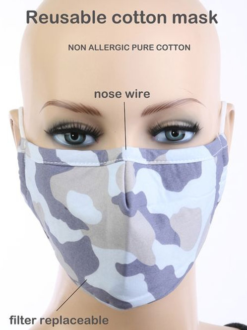 Light Blue Fatigue Mask