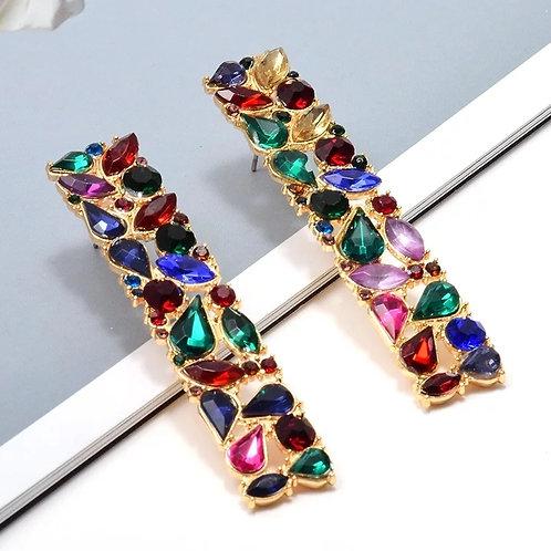 Tamara Earrings (Rainbow)