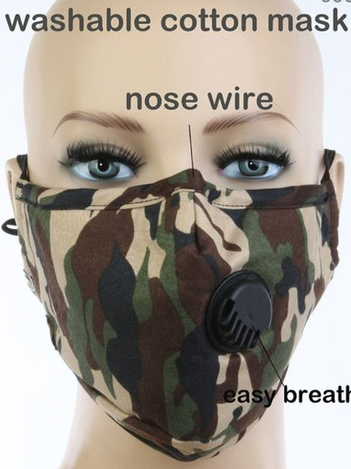 Stand Strong Mask (Fatigue Green)