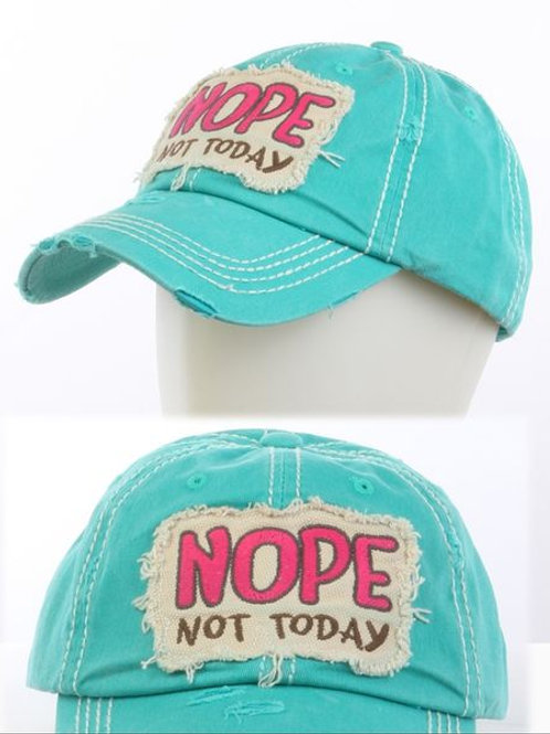 Nope Not Today (Blue)