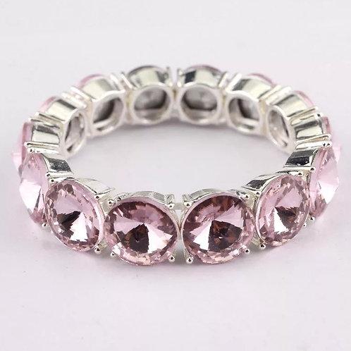 Ice Bubble Bracelet (Pink)