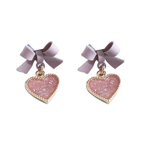 Sparkle  me  Bows Earrings